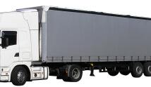 משאית של חברת הובלות