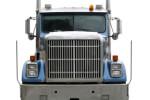חזית של משאית הובלות