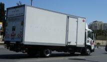 משאית הובלות בקירור