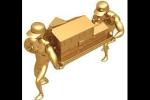 דמויות זהב מובילות דגם בית מזהב
