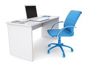 שולחן וכיסא משרדיים להובלה