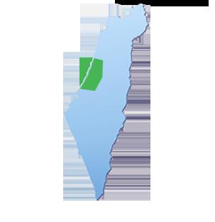 מפת הובלות אזור מרכז