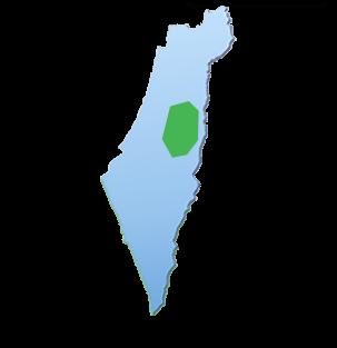 מפת הובלות אזור ירושלים