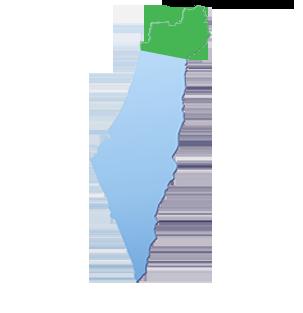 מפת הובלות אזור צפון