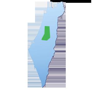מפת הובלות אזור שפלה
