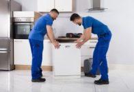 מובילים מוציאים מדיח כלים להובלה